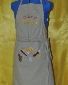 tablier chf barbec